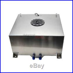 Universal 15 Gallon 60L Fuel Cell Tank Lightweight Aluminum Come with Sender UK