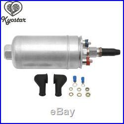 Universal 3L Black Dual Billet Fuel Surge Tank + 2 Pcs External 044 Fuel Pumps