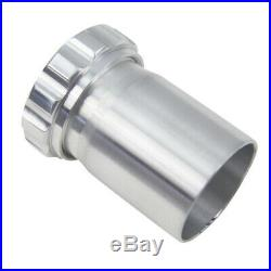 Universal Aluminium Weld On Filler Neck +Cap 47mm ID Oil Fuel Water Tank UK SHIP