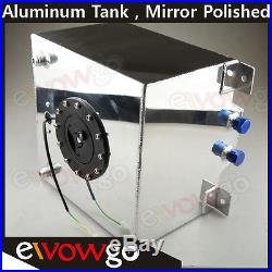 Universal Lightweight Aluminum 15 Gallon Fuel Cell Tank + GM Sending Unit