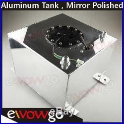 Universal Lightweight Aluminum 5 Gallon Fuel Cell Tank + GM Sending Unit
