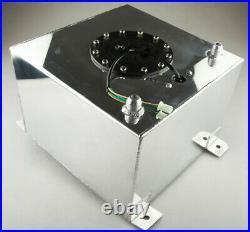 Universal New Aluminum 5 Gallon / 20L Fuel Cell Tank & GM Sender Unit & Foam