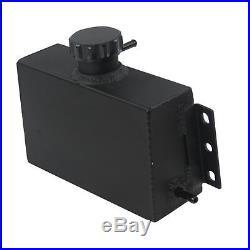 Universal OVERFLOW RESERVOIR Aluminum Coolant Expansion Fuel Tank High-per