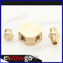 Universal Turbo Oil Line Kit Feed / Return Drain 4AN 10AN T3 T4 T76 Oil Pan Plug