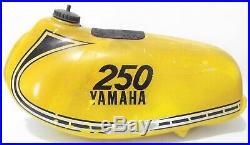 Used Yamaha'1974-'75 YZ250 A/B Aluminum Fuel GAS TANK Ahrma Vintage Motocross