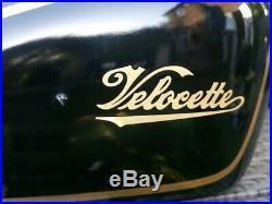 Velocette Venom Aluminium Fuel tank
