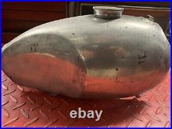 Vintage CZ Trials Aluminum Alloy Gas Fuel Tank Wassell Hi Point Tyran Cub