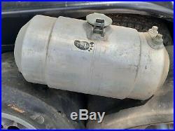 Vintage EELCO tank 3 gal Moon GASSER aluminum HOT ROD RAT