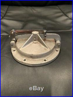 Vintage Halibrand Style Cast Aluminum Gas Cap Fuel Tank SCTA Gasser Race Car