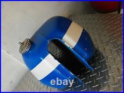 Vintage Husqvarna Aluminum Gas Tank CR WR 250 400 auto 430 cafe racer tracker