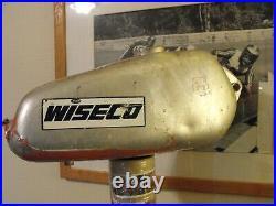 Vintage Husqvarna Aluminum Gas Tank CR WR 250 Vintage Alloy 250mag