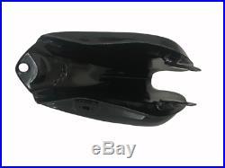 YAMAHA XT TT 500 BLACK PAINTED ALUMINUM FUEL PETROL TANK 1U6,1980 Fit For