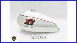 YAMAHA XT500 ALLOY ALUMINIUM WHITE PAINTED PETROL TANK 1980'S MODEL Fit For