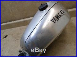 Yamaha 500 XT ENDURO XT500 Alloy Aluminum Gas Fuel Tank 1978 YB282 WD