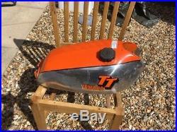 Yamaha TT500 XT500, XT, TT Petol tank, Gas Tank, Fuel Tank, aluminum