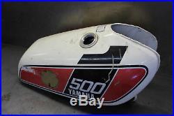 Yamaha Tt500 Aluminum Gas Fuel Tank Cell Petrol Reservoir Xt500
