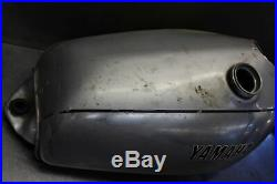Yamaha Tt500 Aluminum Gas Tank Fuel Cell Reservoir Vintage