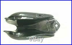 Yamaha Xt 500 Tt 500 Black Painted Aluminum Fuel Gas Petrol Tank