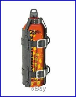 Zodiac 1,5 Liter Gasoline Notfall Tankflasche + Schwarzes Leder-Halter